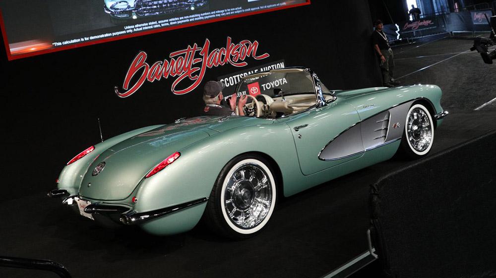 1959 Chevrolet Corvette convertible restomod