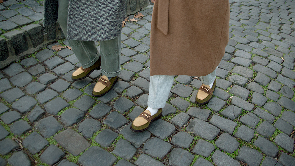 Blackstock & Weber's collaborative loafers with Throwing Fits.