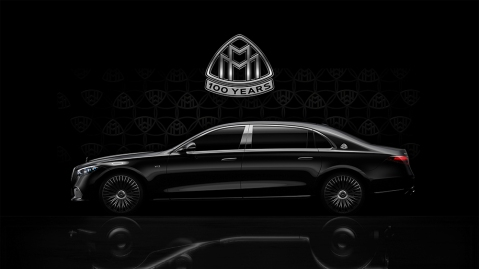 Mercedes-Maybach S-Class with a V-12