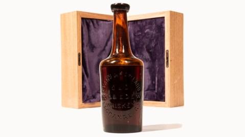 Bottle of Old Ingledew Whiskey