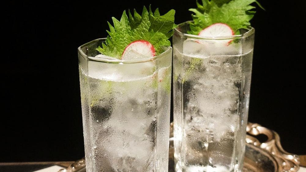 Shiso Gin & Tonic