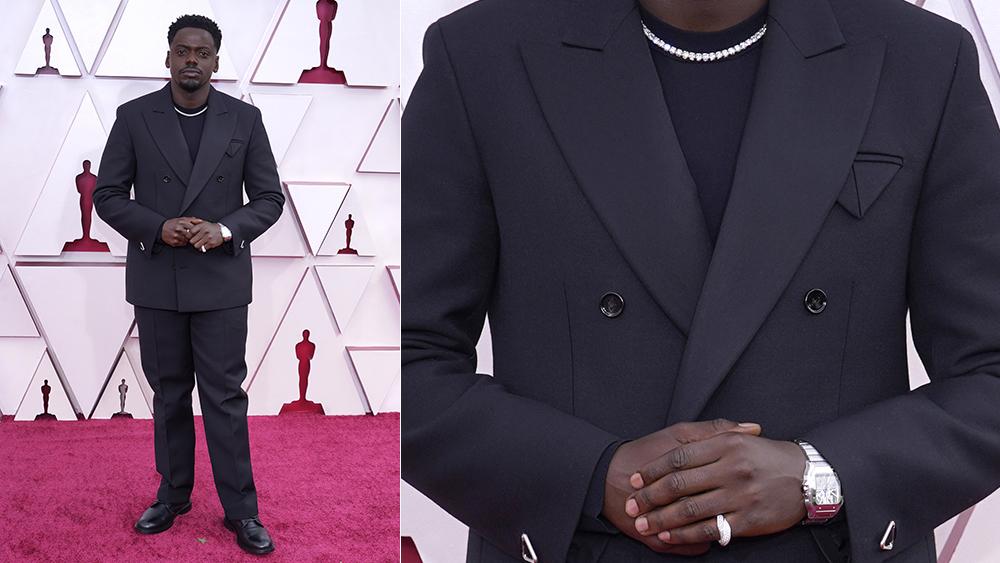 Daniel Kaluuya at the 2021 Oscars