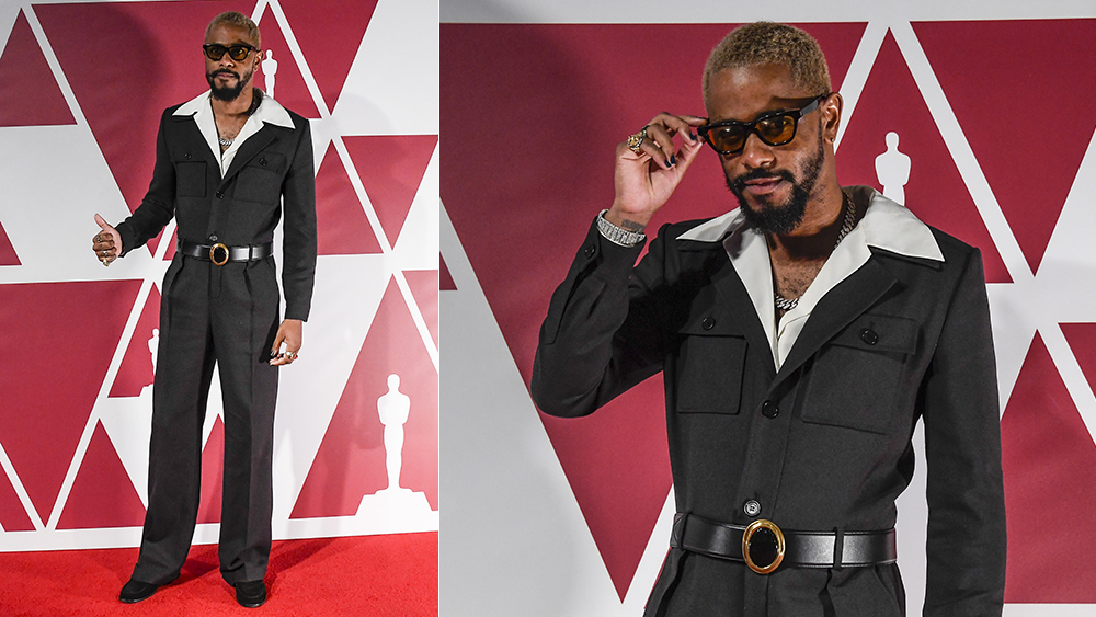 Lakeith Stanfield at the 2021 Oscars