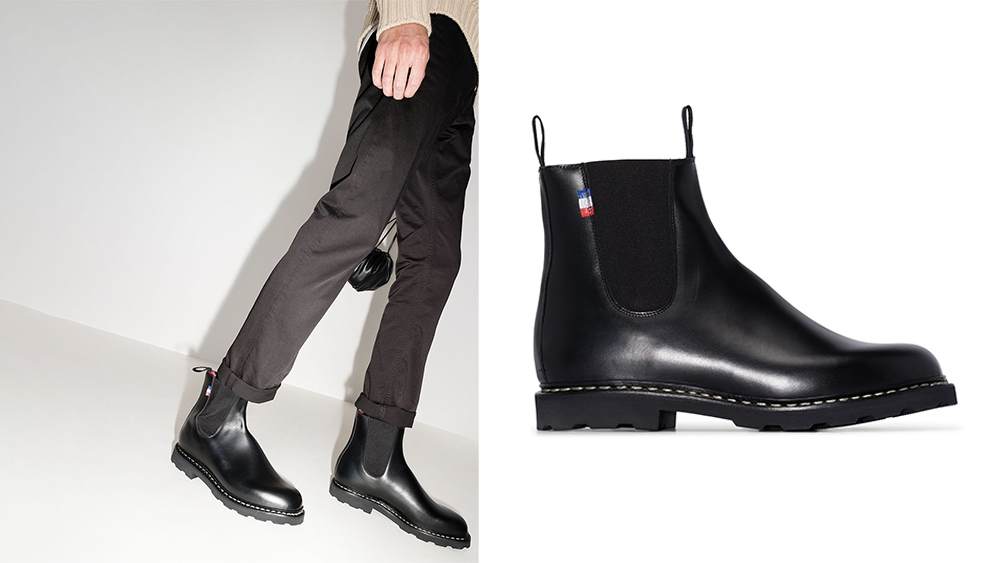 """The """"Elevage"""" boots from Paraboot's collaboration with Arpenteur."""