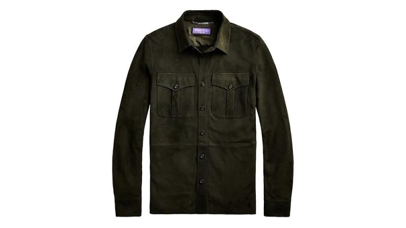 """Ralph Lauren Purple Label """"Barron"""" Suede Jacket"""