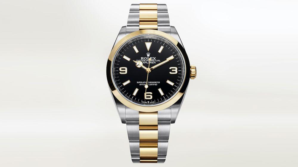 Rolex Explorer Ref. 124273 in Two-Tone