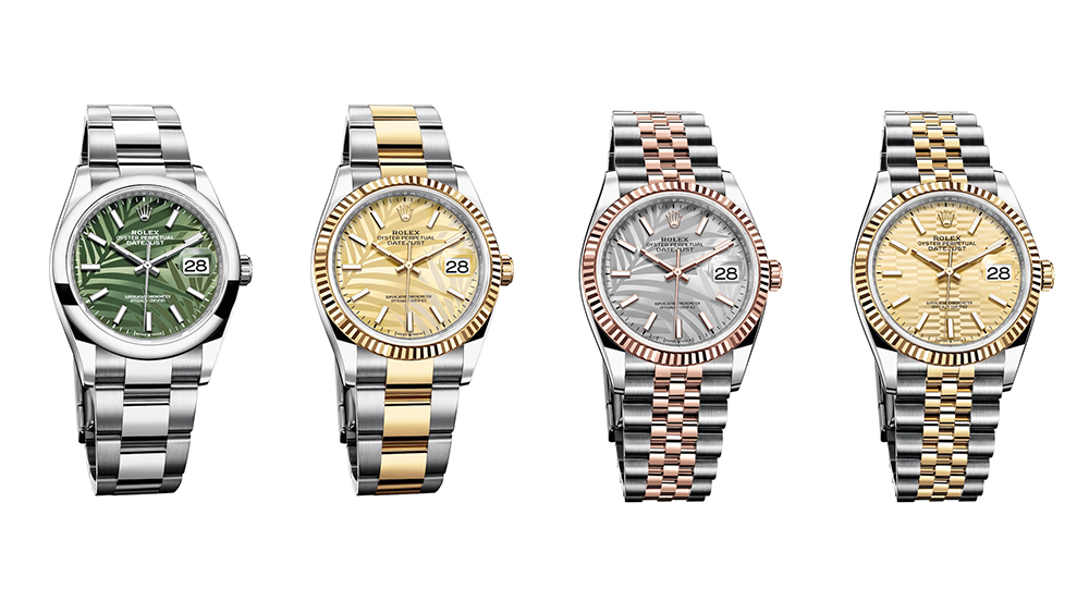 Rolex's new Datejust models for 2021