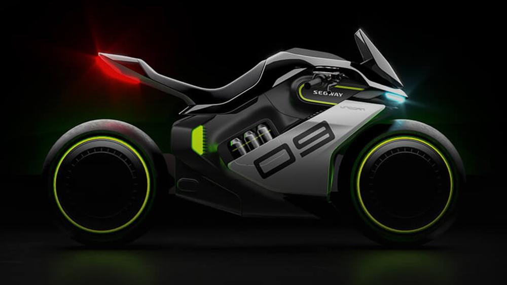 Segway Apex H2 hybrid motorcycle