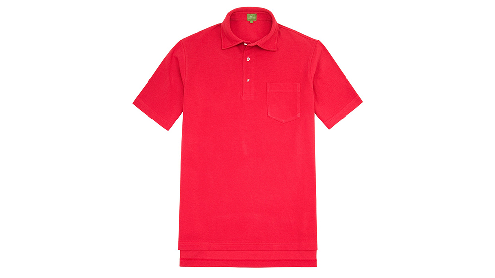 Sid Mashburn short-sleeve pima piqué polo ($95) comes in a wide variety of colors.