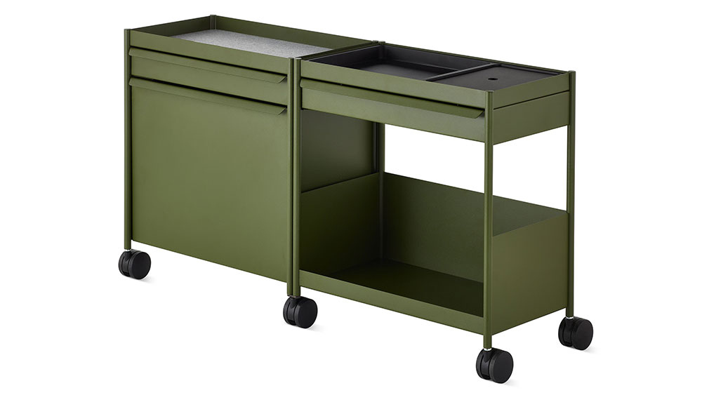 Herman Miller OED1 Storage Trolley