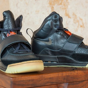 """Grammy Worn"" Nike Air Yeezy 1 Prototypes"