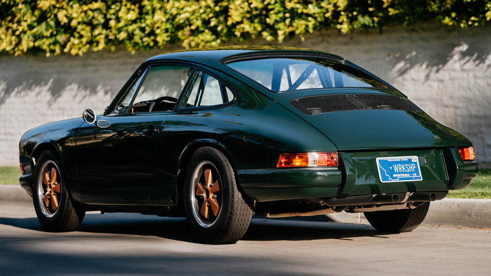 A 1968 Porsche restomod from Workshop 5001.