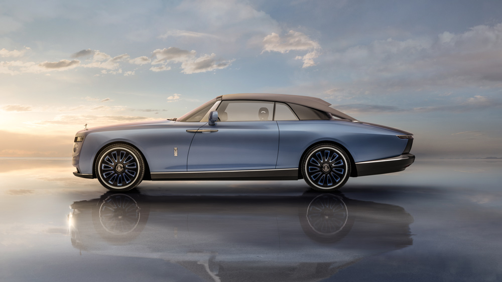 The Rolls-Royce Boat Tail that debuted on May 27, 2021.