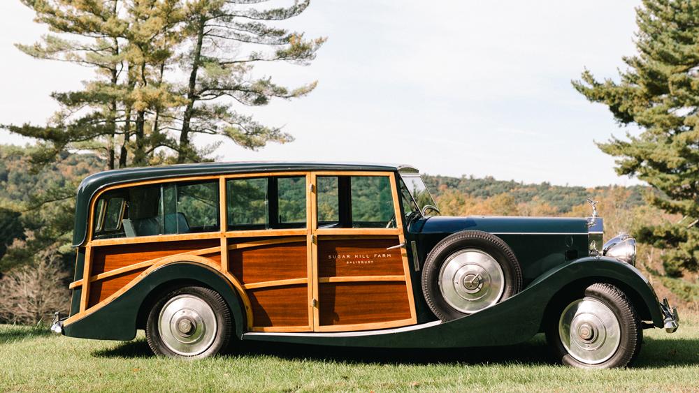 A 1933 Rolls-Royce 20/25 Shooting Brake.