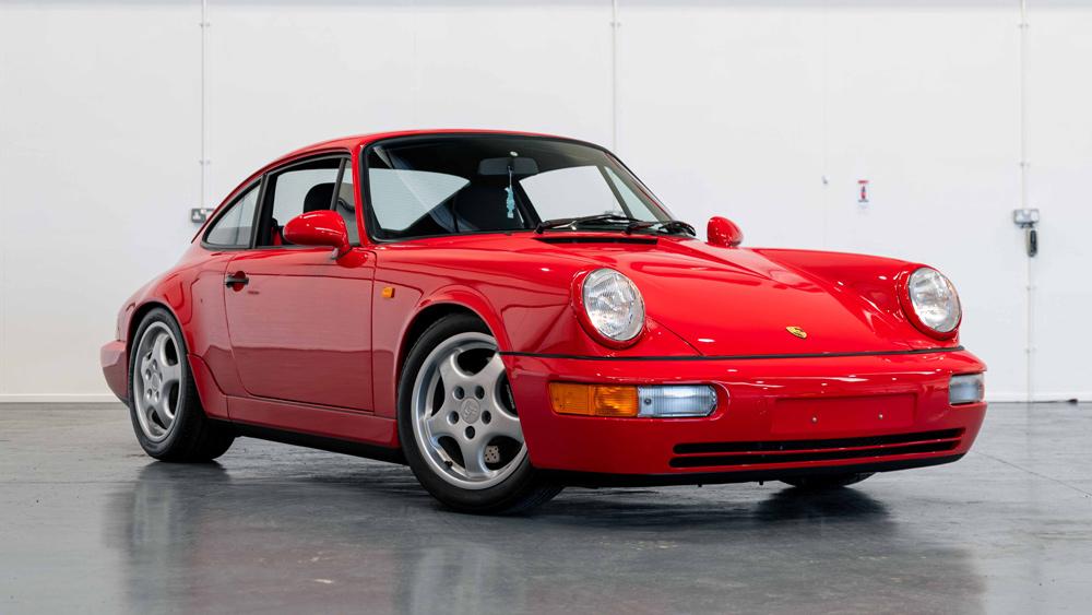A 1991 Porsche 911 (964) Carrera RS available through CollectingCars.com.