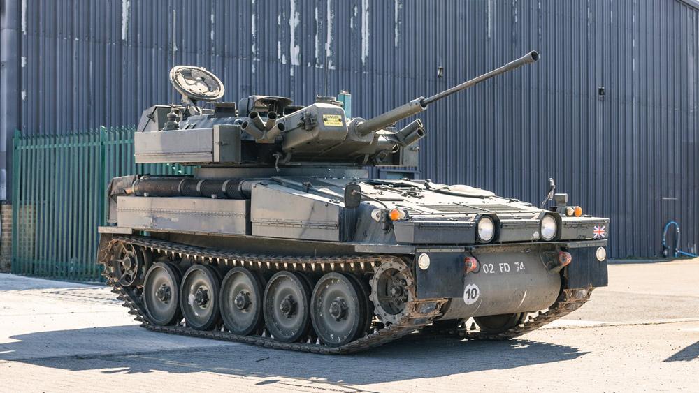 An Alvis Sabre light tank available through CollectingCars.com.