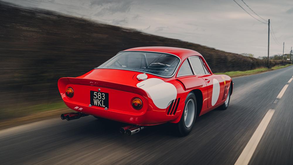 The Ferrari 330 LMB recreation from Bell Sport & Classic.