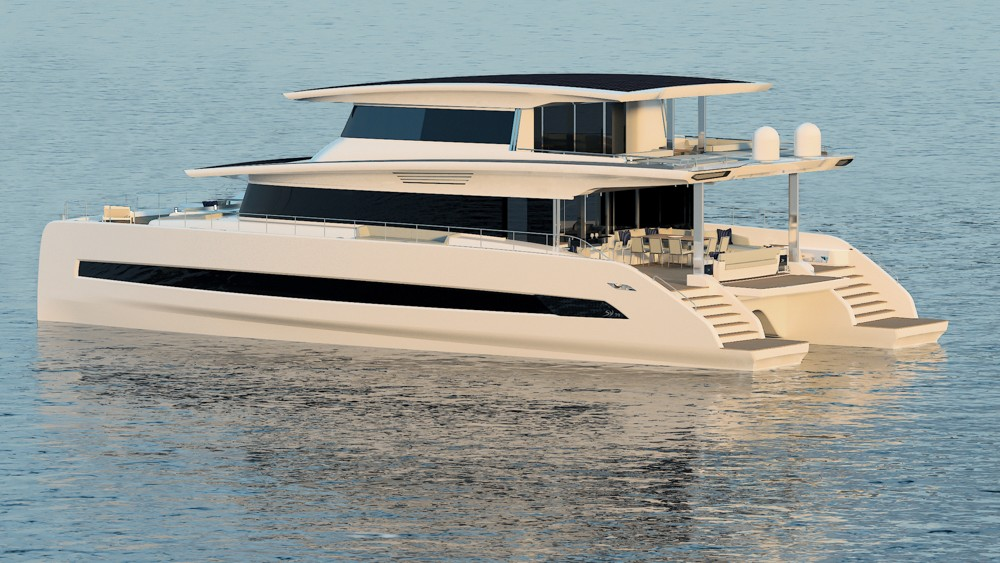 Electric boats are coming from Silent Yachts and Naviar are coming it's not clear when they will be mainstream.