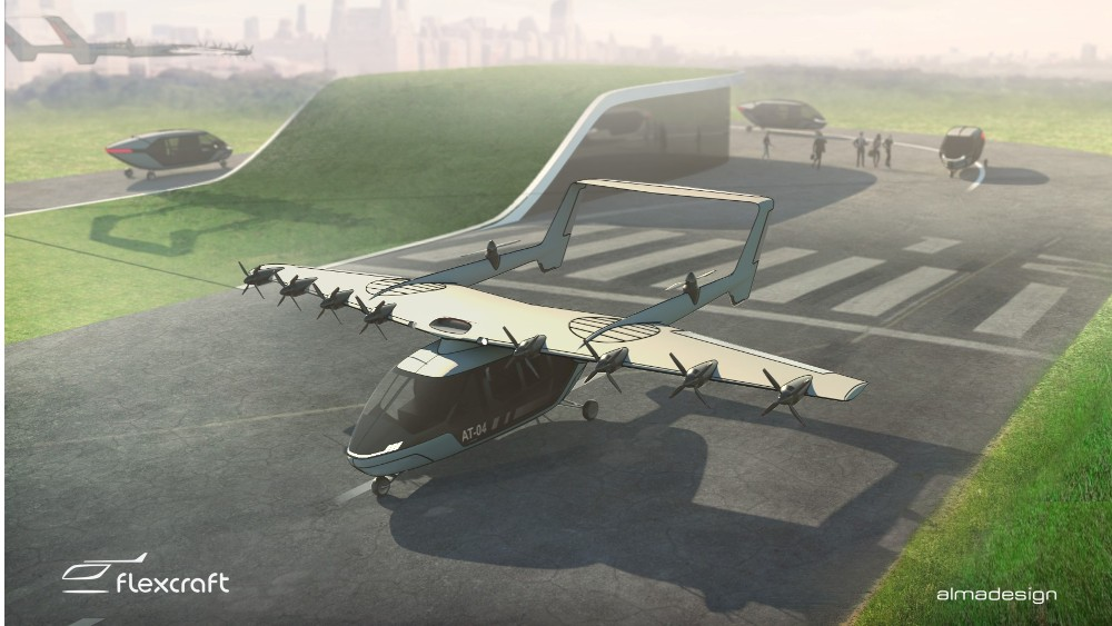 Flexcraft can change configurations by having independent wings that can detach from the aircraft body and fly themselves independently