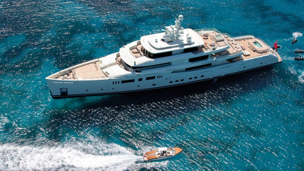 The Vitruvius series is Philippe Briand's superyacht sisterhood