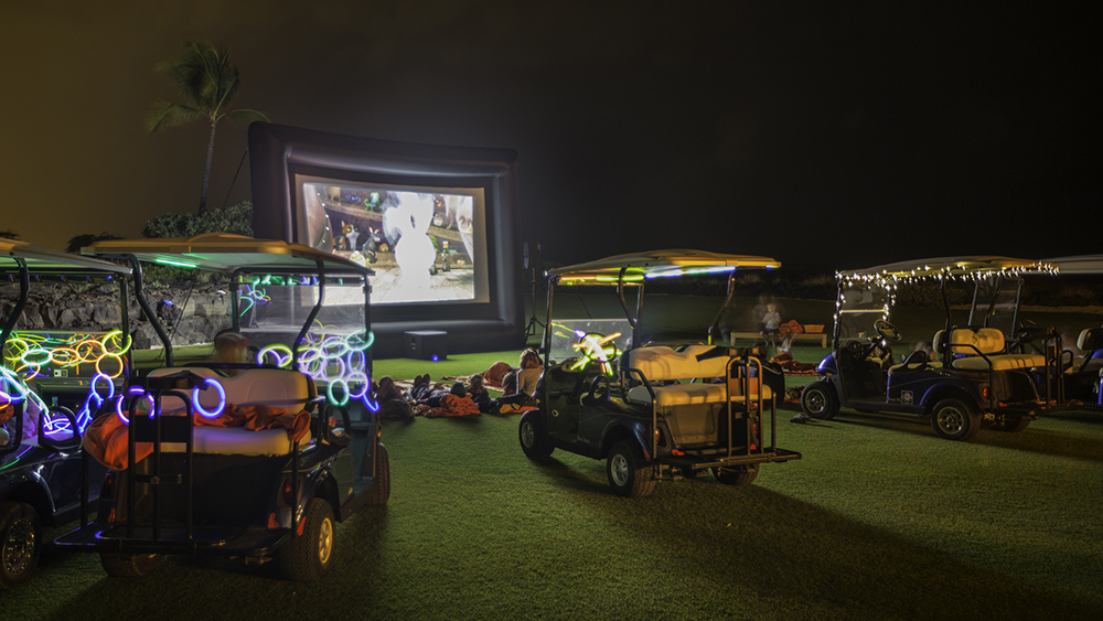 Kohanaiki - Drive in Movie