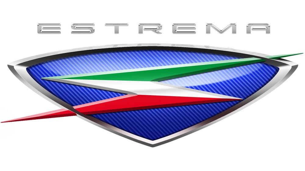 The logo for Automobili Estrema.