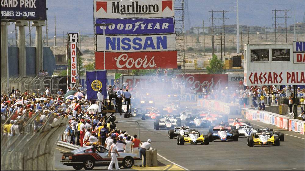 In 1982, the United States became the only country to hold three races in a season until last year.