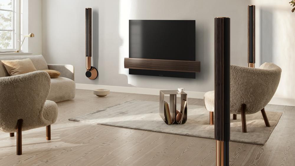 Bang & Olufsen's Beolab 28 loudspeakers.