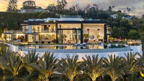 Palazzo di Vista, California, Bel Air, Real Estate, Home, NFT
