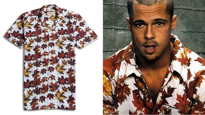 Far Afield Unveils a 'Fight Club'-Inspired Summer Shirt Just Like the One Brad Pitt Wore