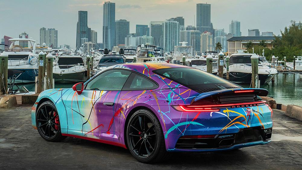 Rich B. Caliente Porsche