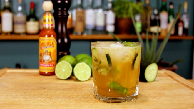 lime hot sauce tequila cocktail