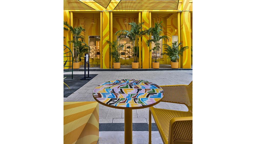 Fendi Caffe in Miami