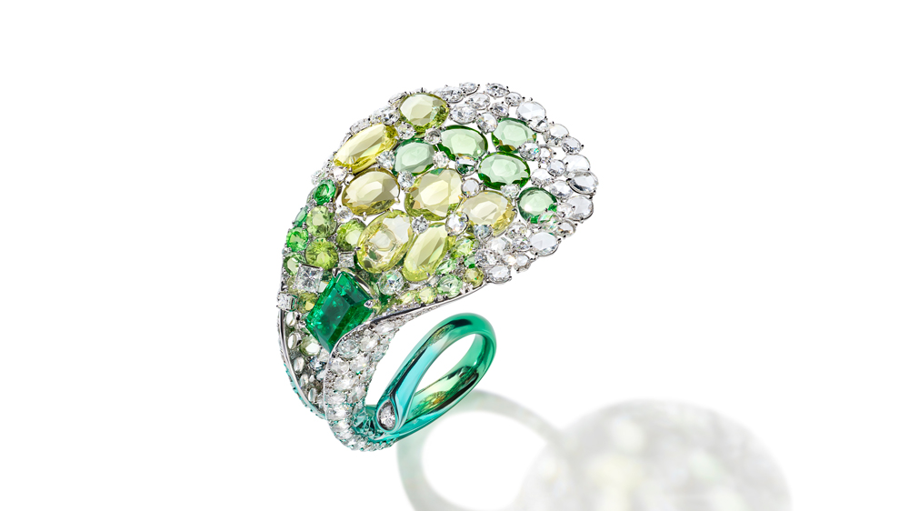 Feng J Calla Lily Ring