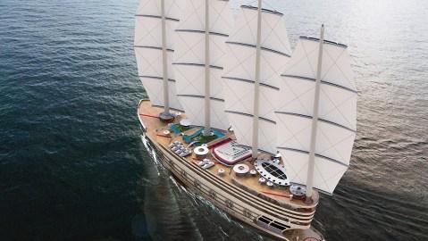 Galleon Gigayacht
