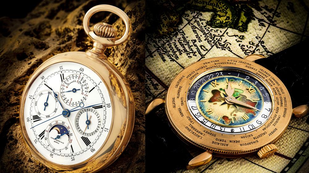 Patek Philippe Gradowski Grande Complication; Patek Philippe 18-Karat Pink Gold Ref. 1415 World Time