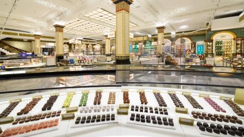 Harrods Chocolate Hall, London