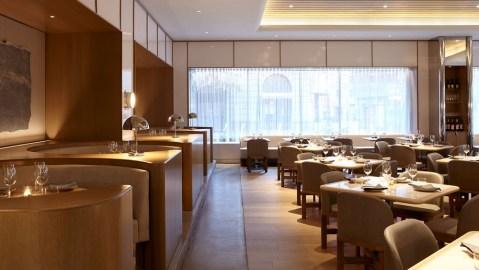 Midtown manhattan fine dining room