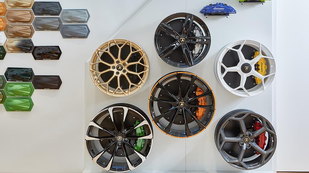 Lamborghini Lounge NYC