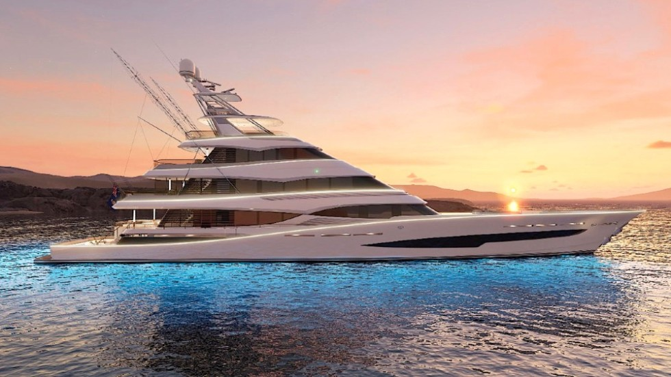 This 171-foot yacht is the world's biggest sportfishing vessel to be built by Royal Huisman