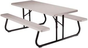 Lifetime Folding Picnic Table