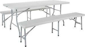 Office Star Resin Table Set