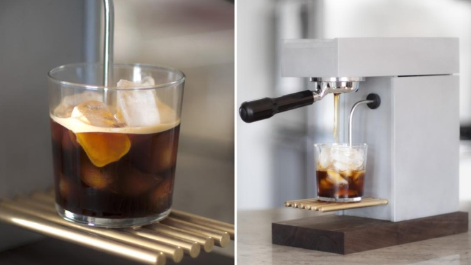 Ready for Iced-Coffee Season? This Sleek New Machine Creates Cold Brew in 90 Seconds