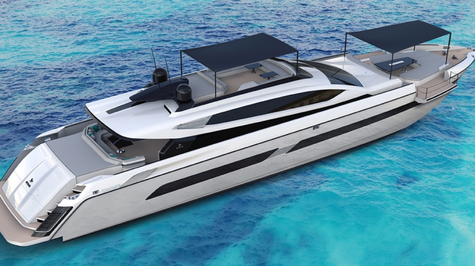 Otam's Lightning-Quick New 115-Foot Superyacht Can Reach a Blistering 44 Knots on the Water
