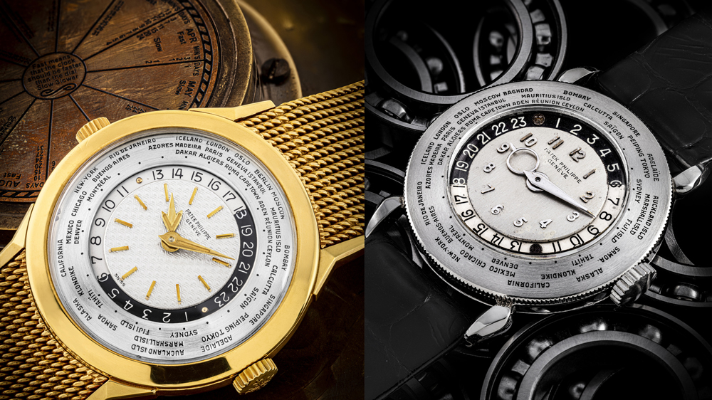 Patek Philippe Ref. Ref. 2523/1 and Ref. 1415 World Time