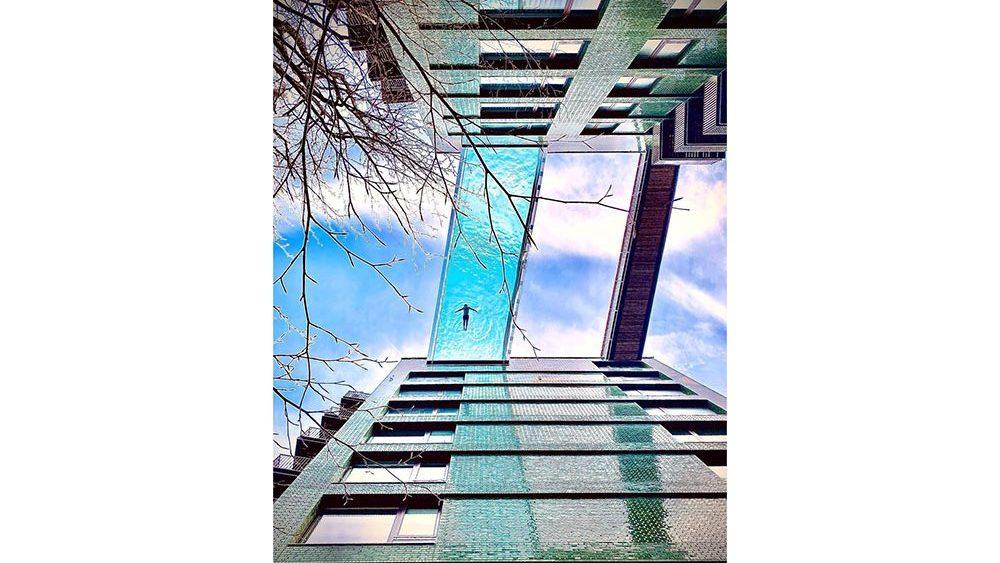 Sky Pool, London, Real Estate