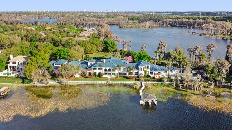 Shaquille O'Neal's Orlando Mansion
