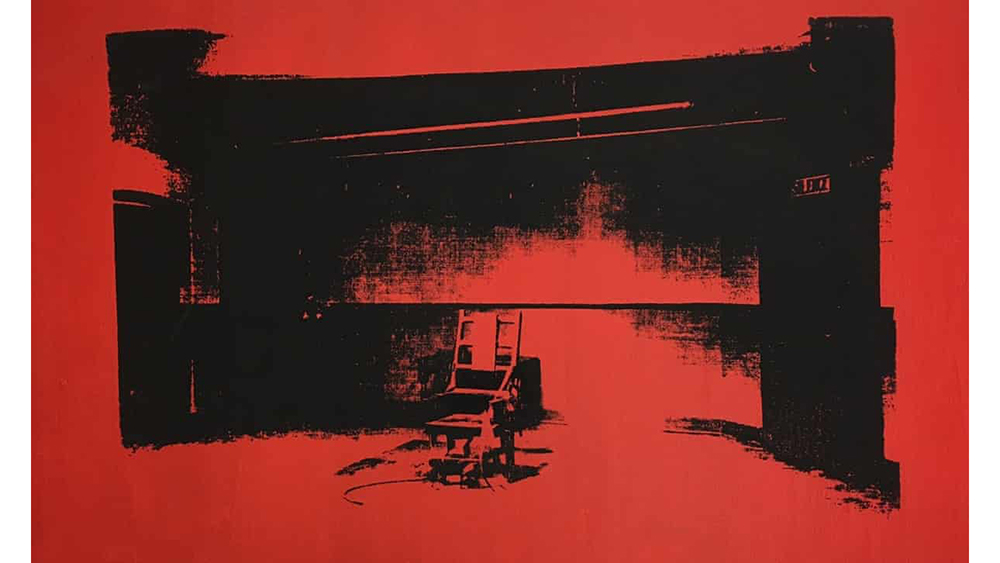 Attention, Billion Dollar Babies: Alice Cooper Is Auctioning an Unauthenticated Warhol Electric Chair Painting