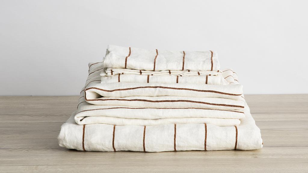 Best Luxury Sheets: Cultiver Linen Sheets