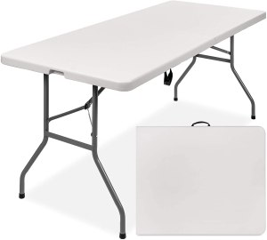 Best Choice Products Heavy-Duty Folding Table